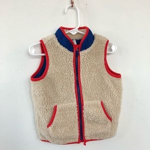 🥧VGUC- Sherpa Vest for Toddler